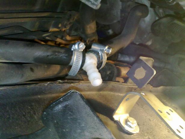 термостата двигателя.
